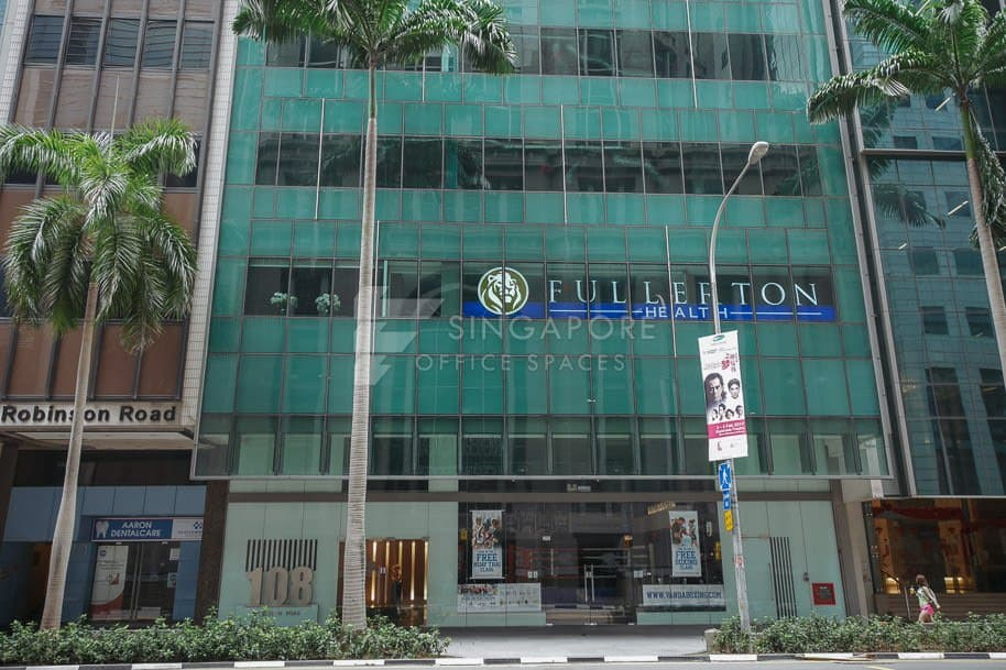 108 Robinson Road Office For Rent Singapore 578