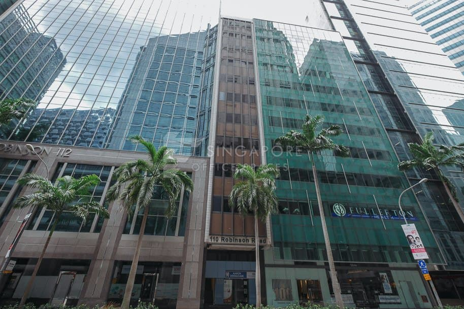 110 Robinson Road Office For Rent Singapore 576