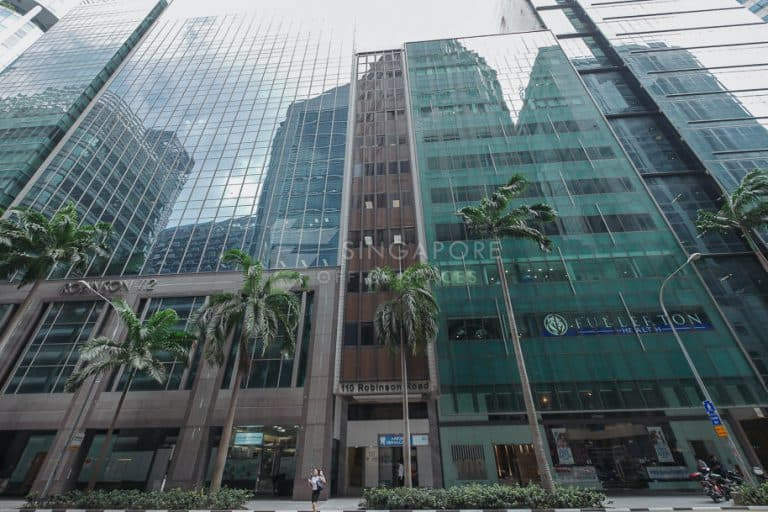 110 Robinson Road Office For Rent Singapore 645