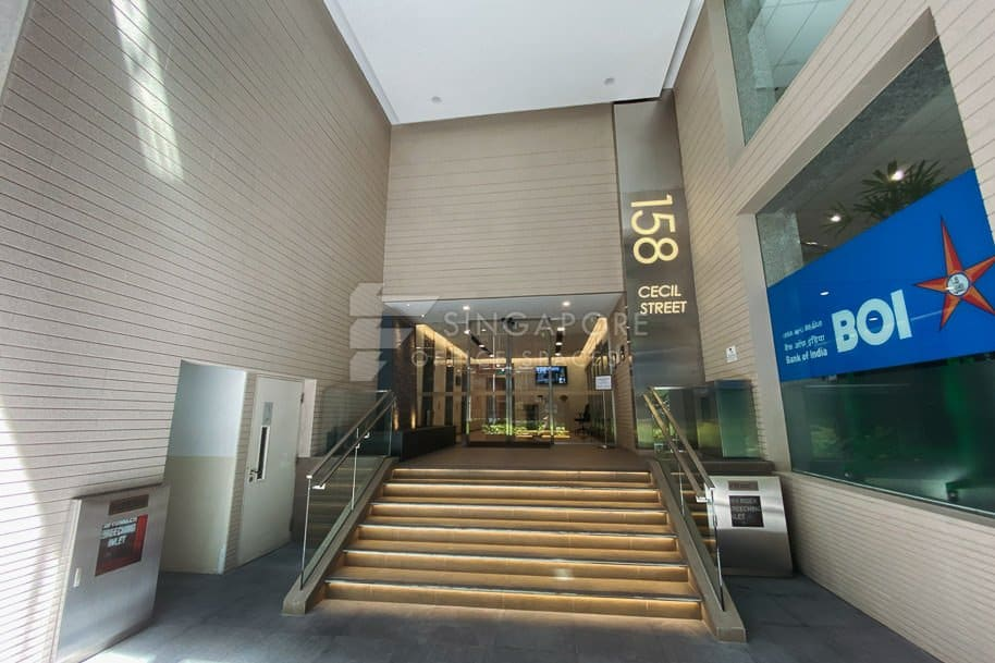 158 Cecil Street Office For Rent Singapore 1276