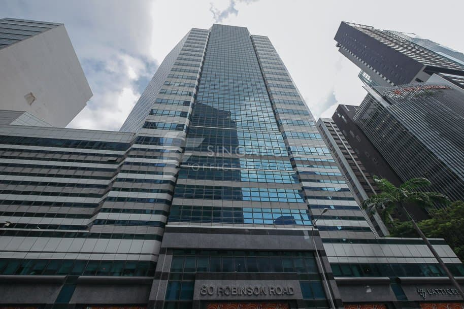 80 Robinson Road Office For Rent Singapore 654