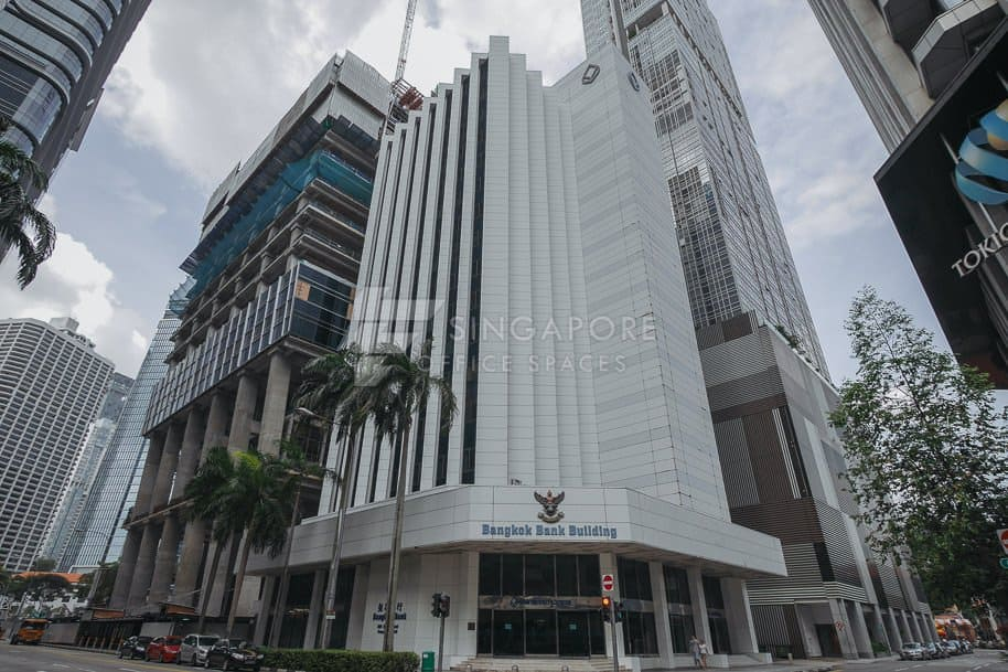 Bangkok Bank Building Office For Rent Singapore 555