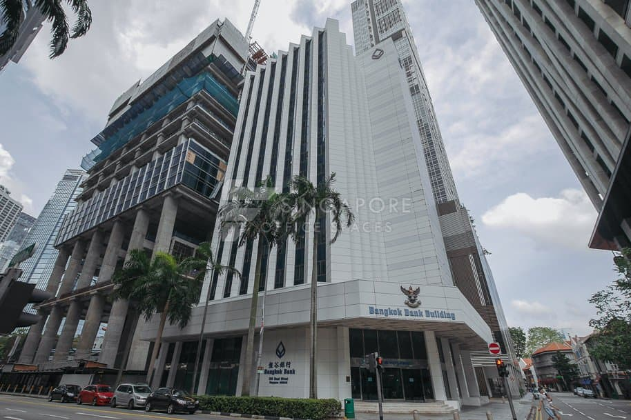 Bangkok Bank Building Office For Rent Singapore 556