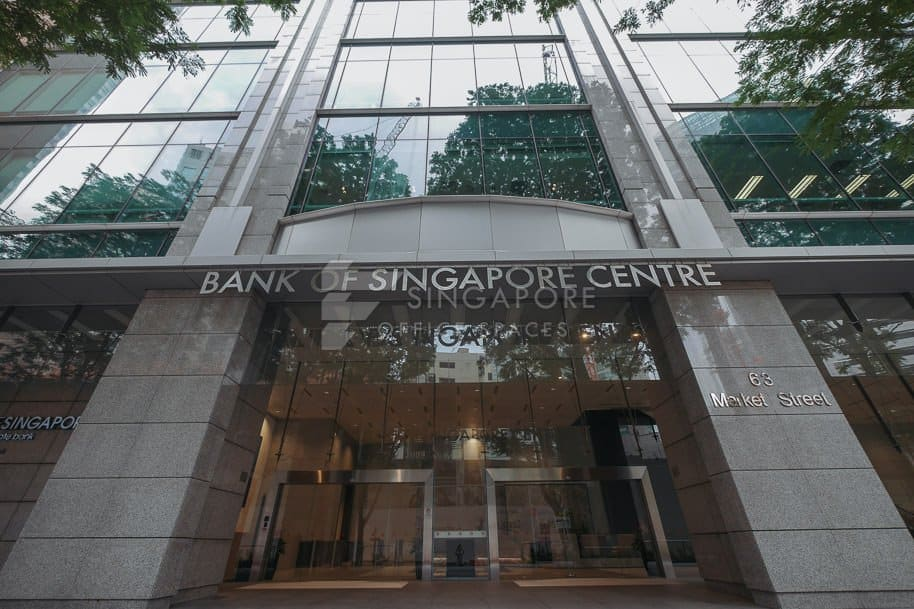 Bank Of Singapore Centre Office For Rent Singapore 758