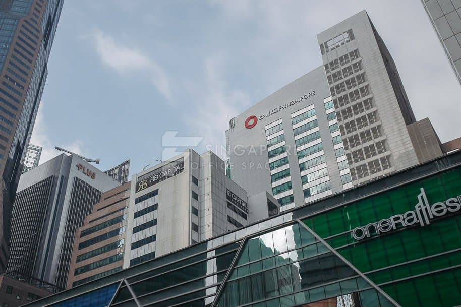 Bank Of Singapore Centre Office For Rent Singapore 790