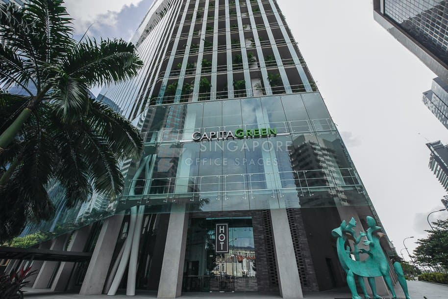 Capitagreen Office For Rent Singapore 531