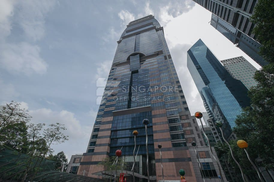 Capital Tower Office For Rent Singapore 559