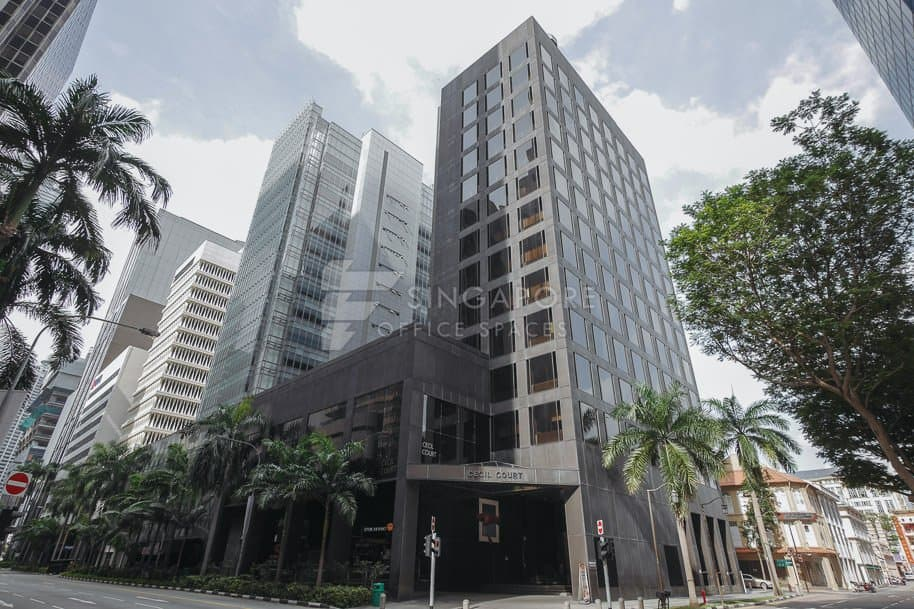 Cecil Court Office For Rent Singapore 541