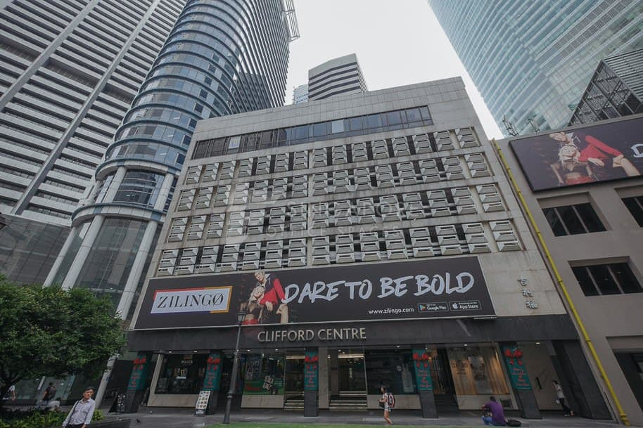 Clifford Centre Office For Rent Singapore 795