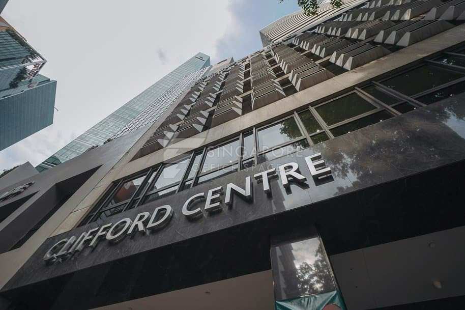 Clifford Centre Office For Rent Singapore 800