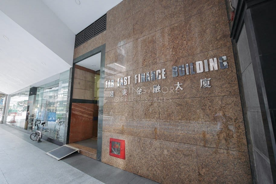 Far East Finance Building Office For Rent Singapore 836