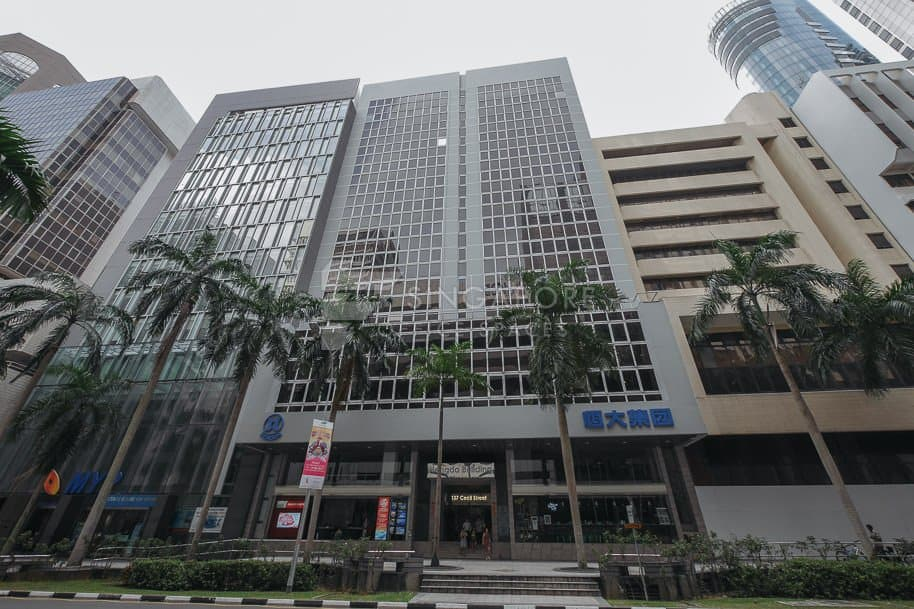 Hengda Building Office For Rent Singapore 508