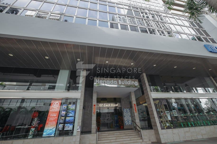 Hengda Building Office For Rent Singapore 549