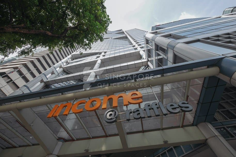 Income At Raffles Office For Rent Singapore 801