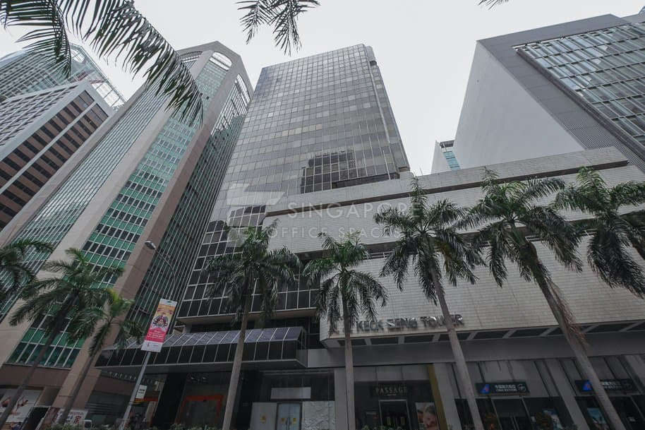 Keck Seng Tower Office For Rent Singapore 513
