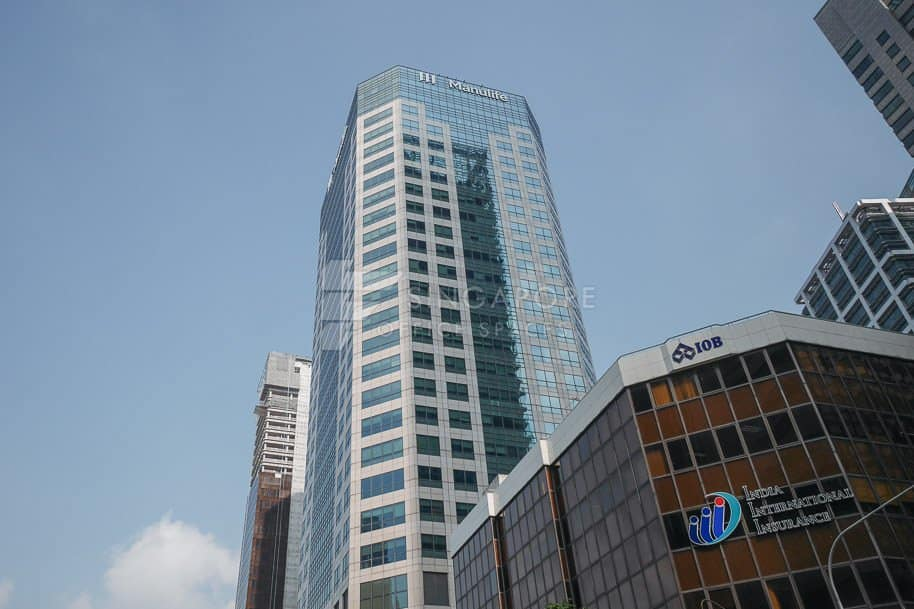 Manulife Tower Office For Rent Singapore 842