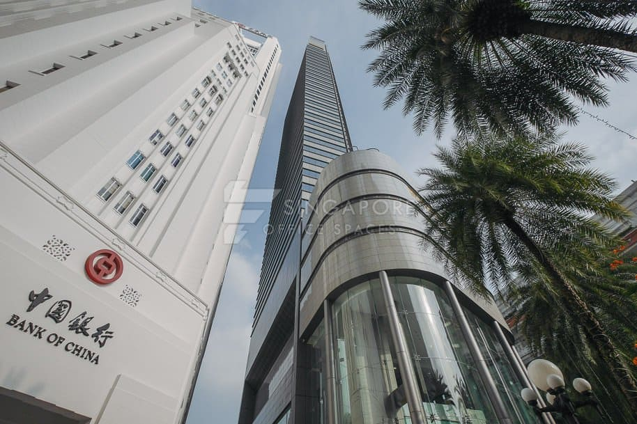 Maybank Tower Office For Rent Singapore 778