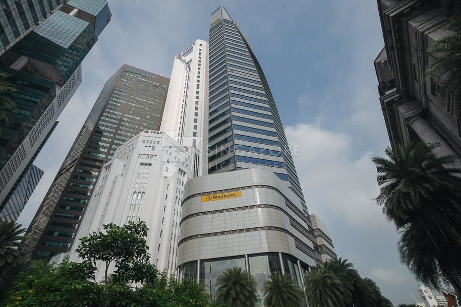 Maybank Tower Office For Rent Singapore 779