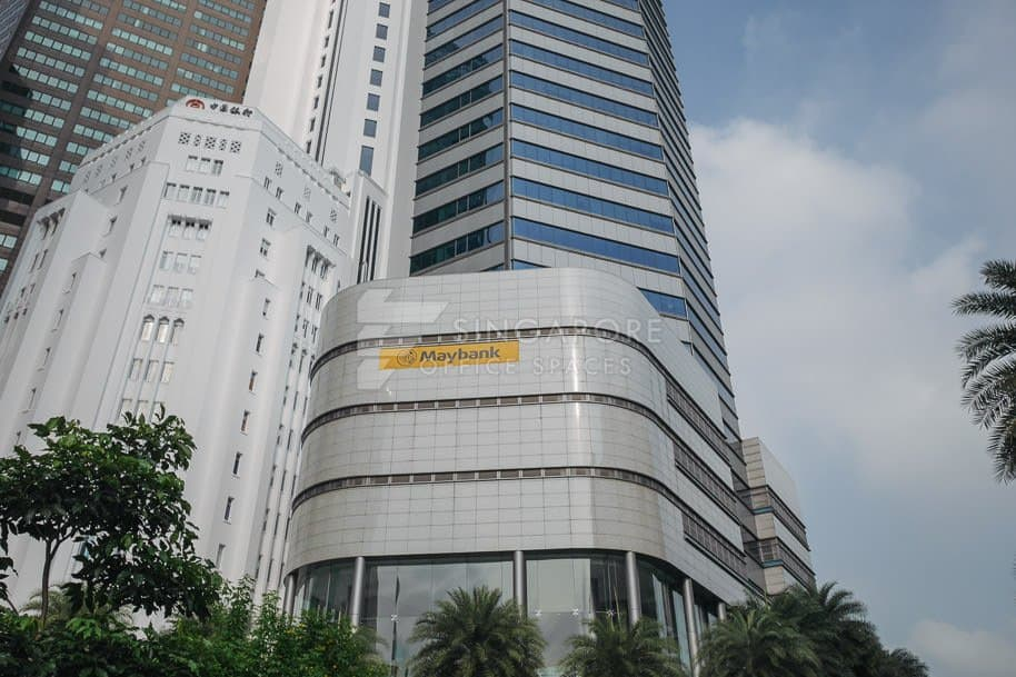 Maybank Tower Office For Rent Singapore 780