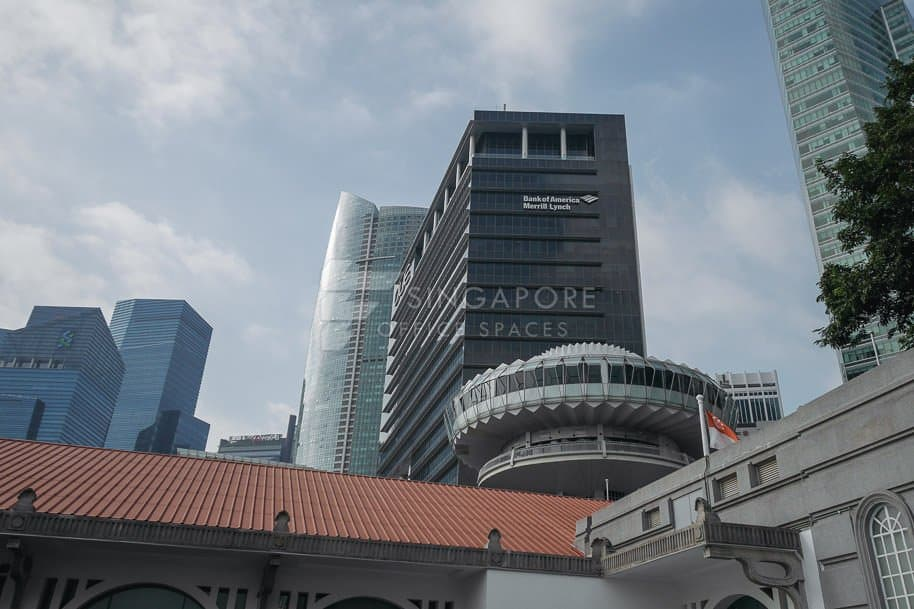 Oue Bayfront Office For Rent Singapore 806