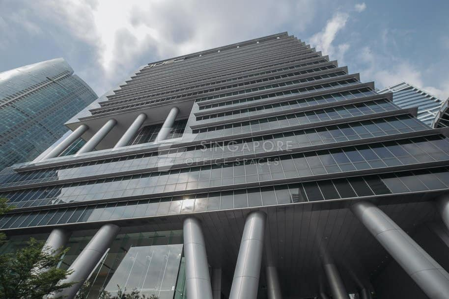 Oue Bayfront Office For Rent Singapore 808