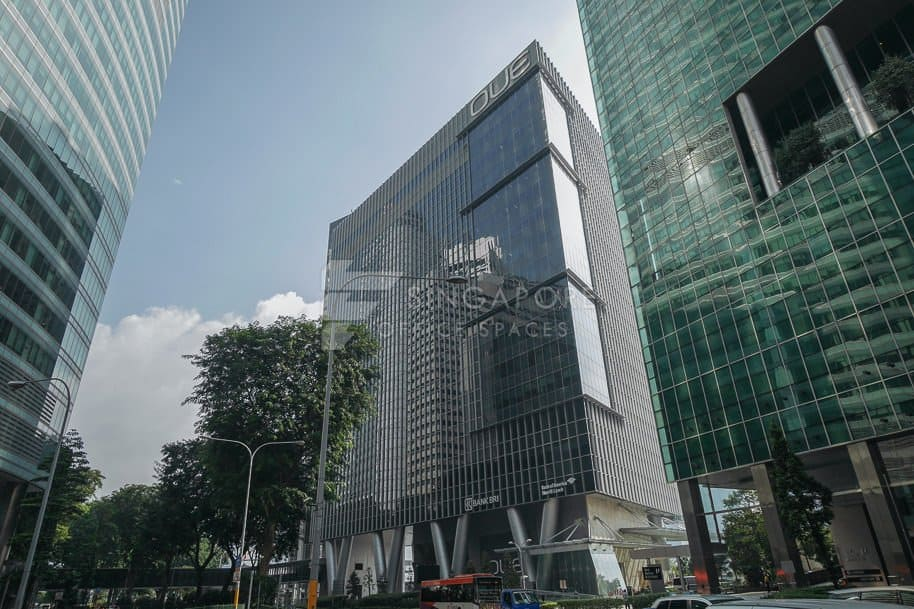 Oue Bayfront Office For Rent Singapore 820