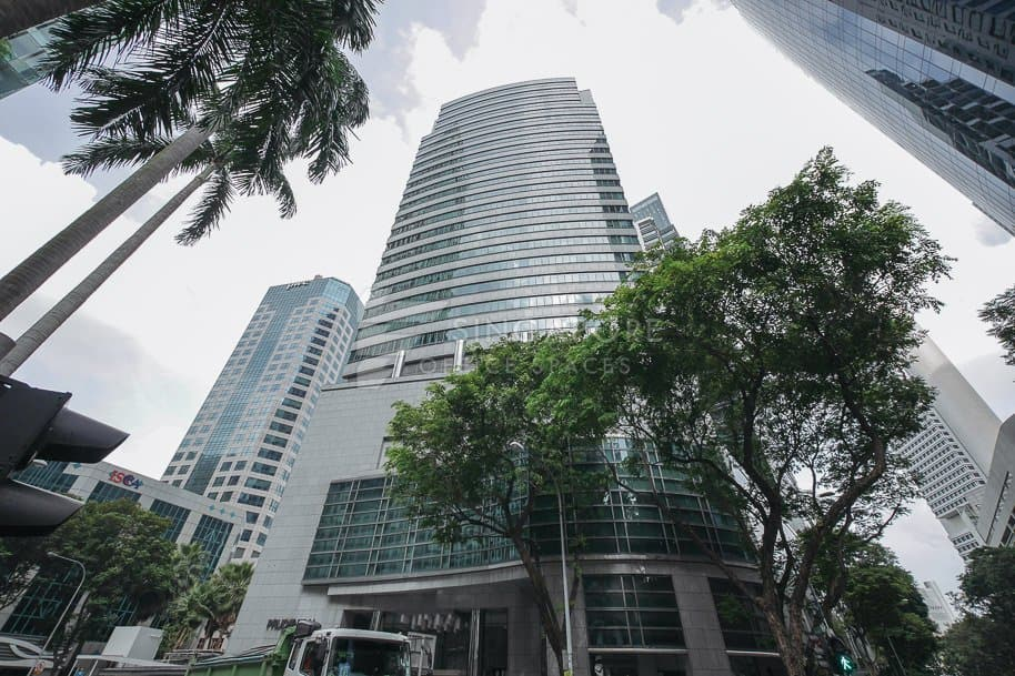 Prudential Tower Office For Rent Singapore 526