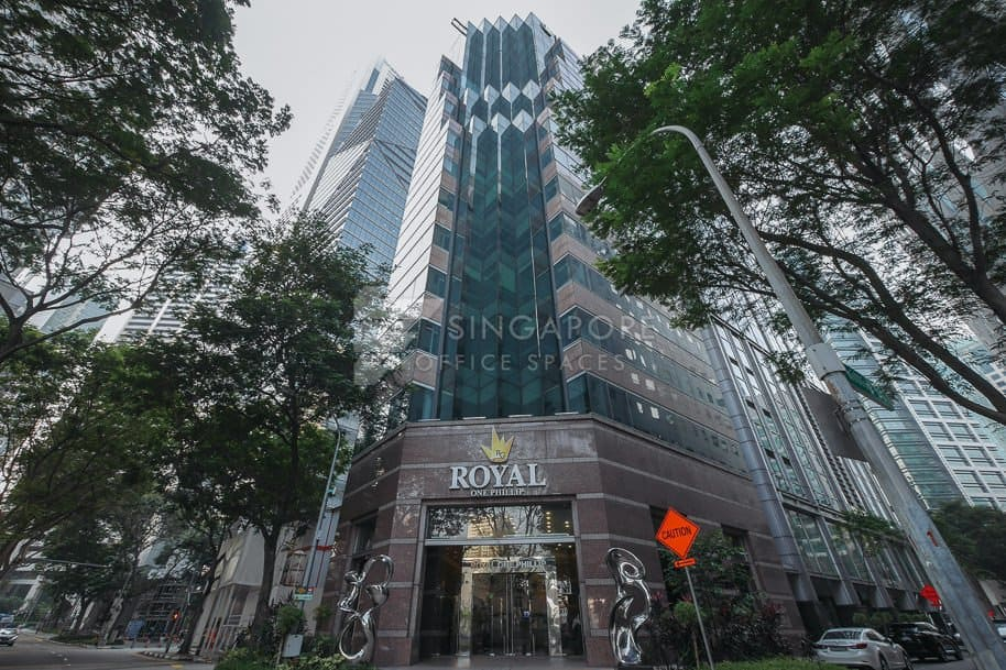 Royal One Phillip Office For Rent Singapore 709