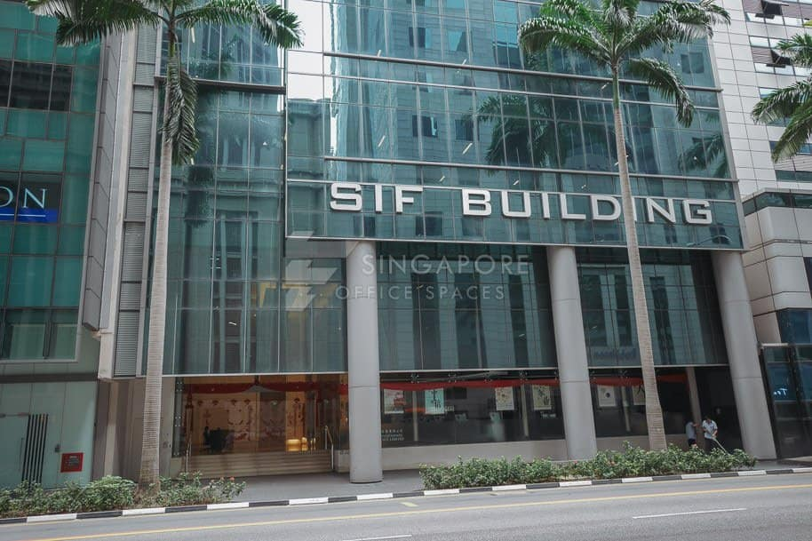 Sif Building Office For Rent Singapore 579