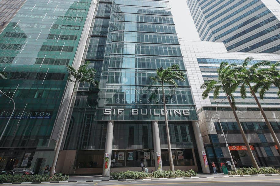 Sif Building Office For Rent Singapore 648