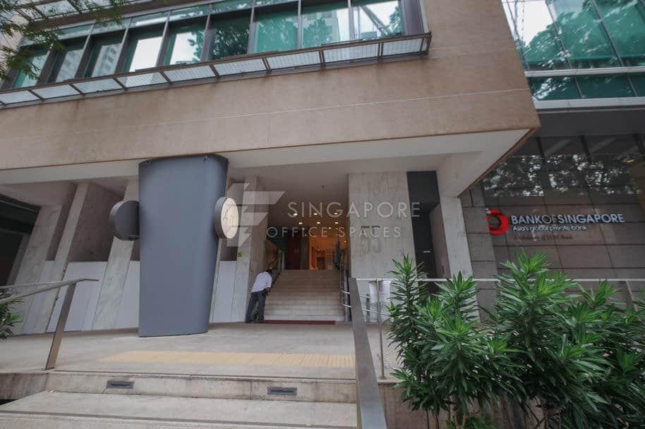 Sinsov Building 55 Market Street Office For Rent Singapore 761