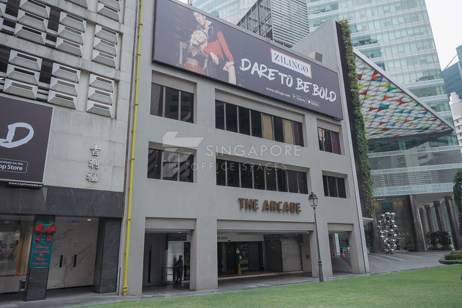 The Arcade Office For Rent Singapore 796