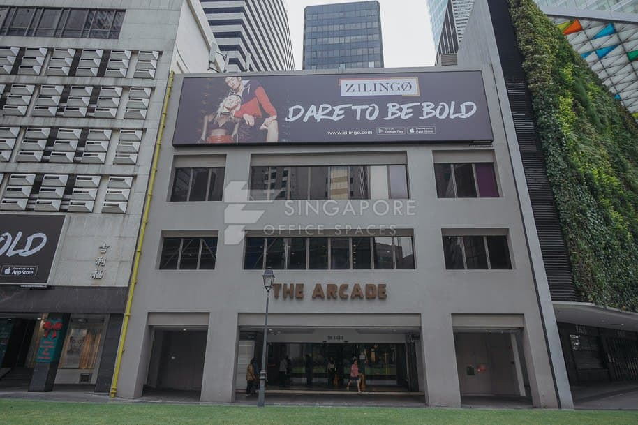 The Arcade Office For Rent Singapore 797