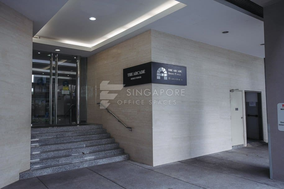 The Arcade Office For Rent Singapore 799