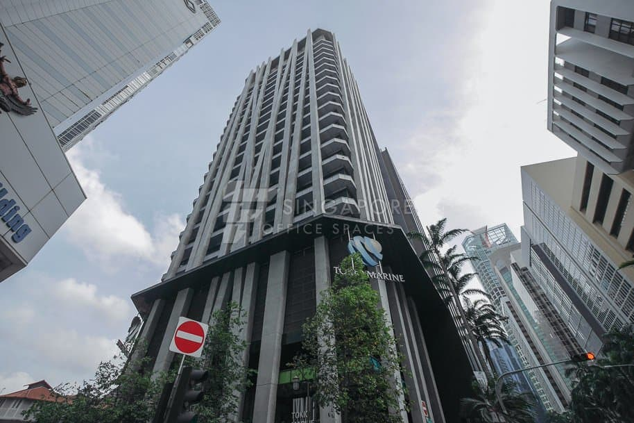 Tokio Marine Centre Office For Rent Singapore 506