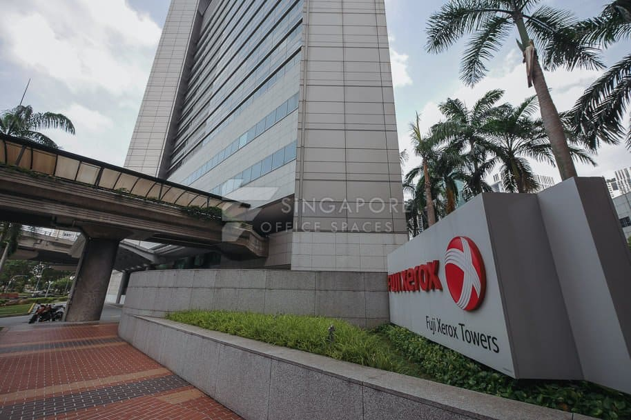Fuji Xerox Towers Office For Rent Singapore 410