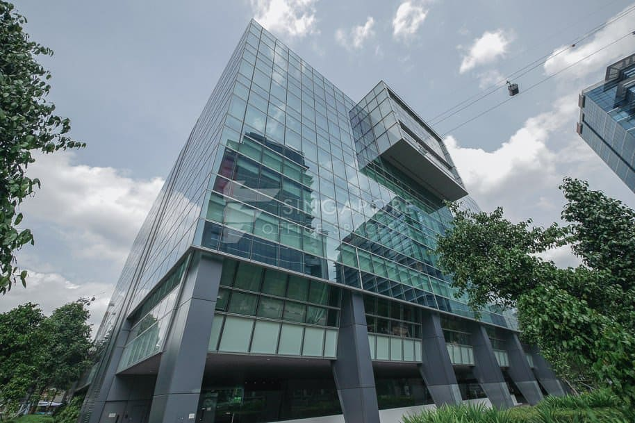 Bank Of America Merrill Lynch Harbourfront Office For Rent Singapore 380