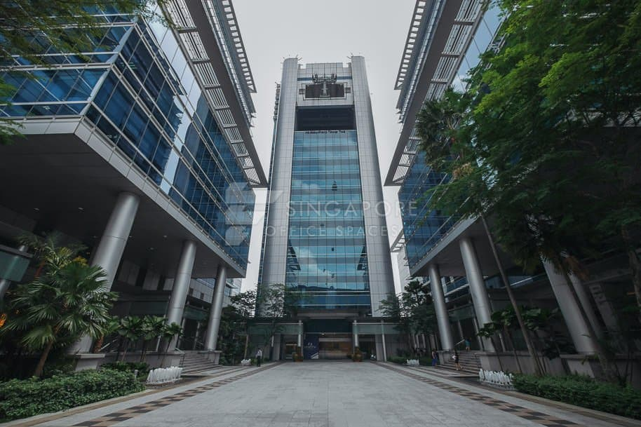Keppel Bay Tower Office For Rent Singapore 388