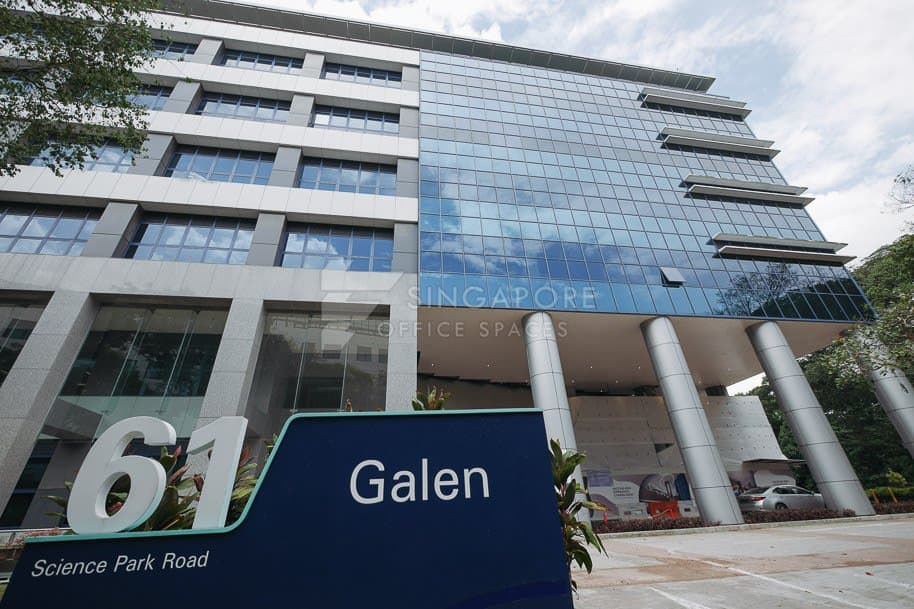 The Galen Office For Rent Singapore 1240