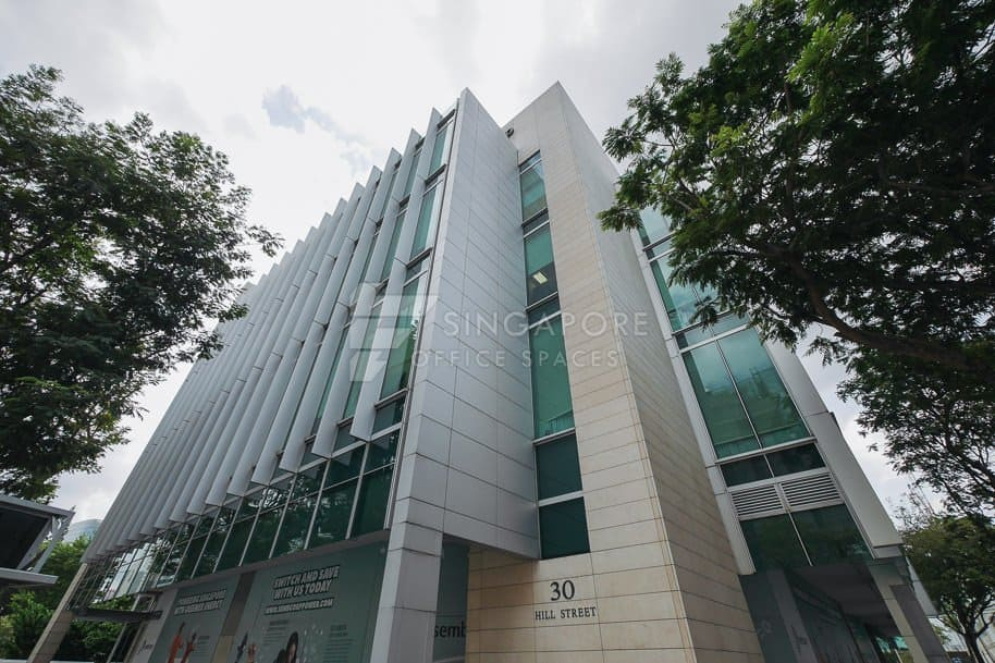 30 Hill Street Office For Rent Singapore 1176