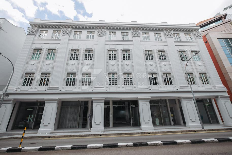 36 & 38 Armenian Street Office For Rent Singapore 1179