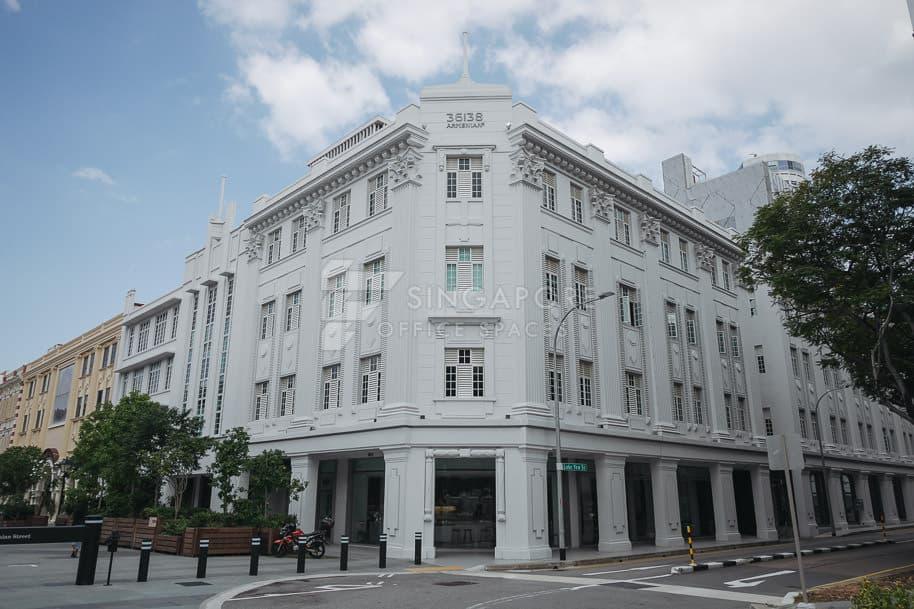 36 & 38 Armenian Street Office For Rent Singapore 1184