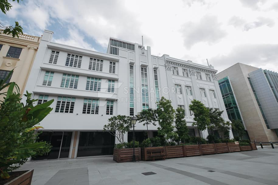 36 & 38 Armenian Street Office For Rent Singapore 1185