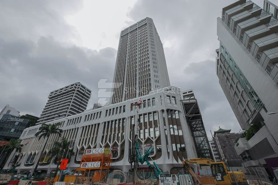 Peninsula Plaza Office For Rent Singapore 874