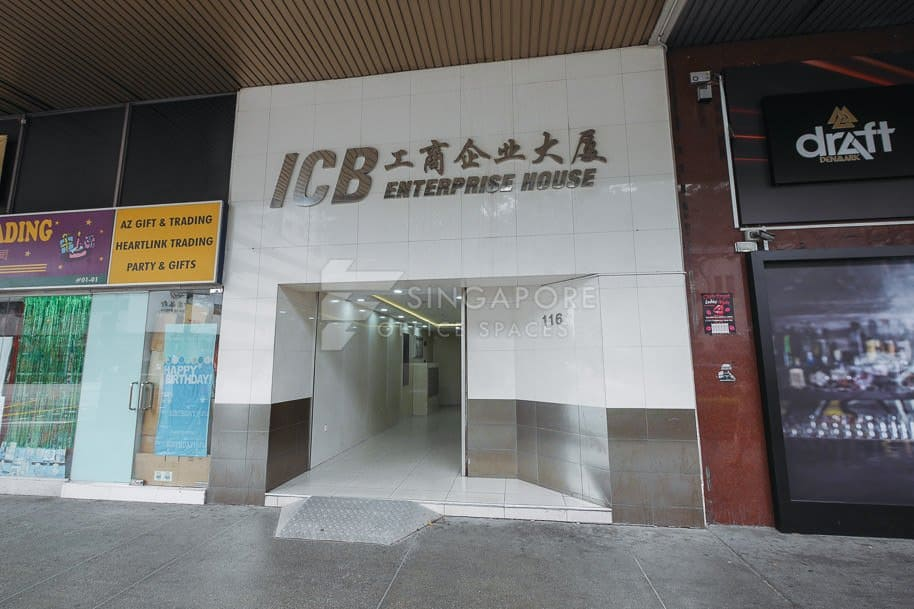 Icb Enterprise House Office For Rent Singapore 314