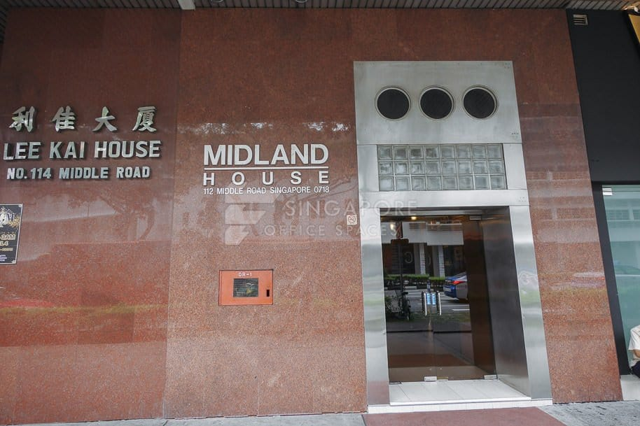 Midland House Office For Rent Singapore 313