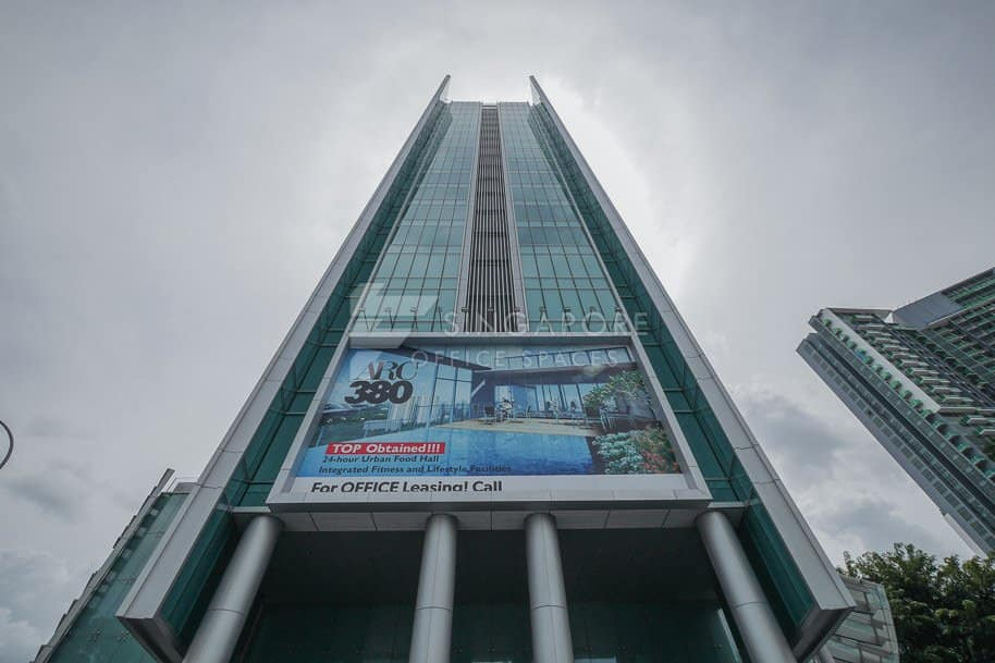 Arc 380 Office For Rent Singapore 863