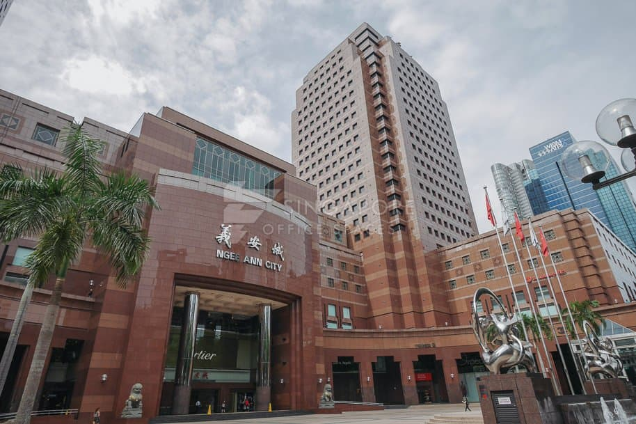 Ngee Ann City Tower Office For Rent Singapore 227