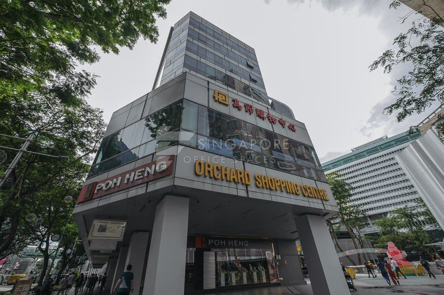 Orchard Shopping Centre Office For Rent Singapore 221