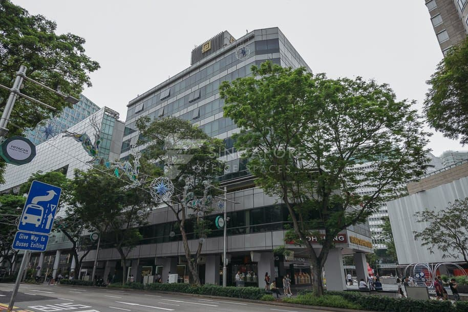 Orchard Shopping Centre Office For Rent Singapore 291